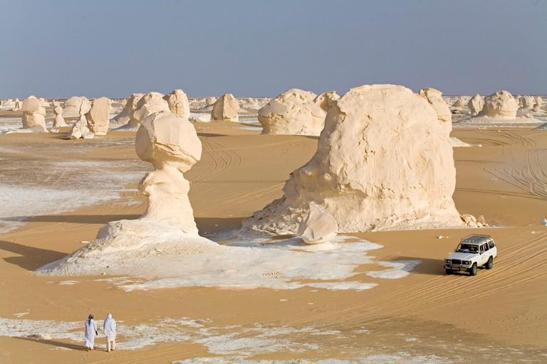 Egypt, Libyan Desert, Farafra, White Desert National Park