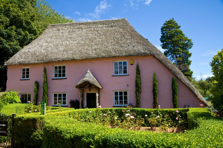 Rose Cottage is one of the most picturesque houses in the charming village of Cockington in Devon, England