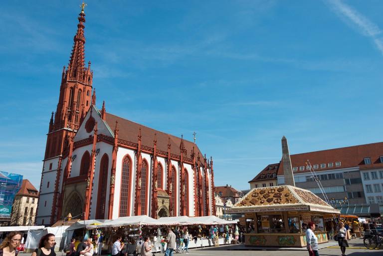 St. Mary's chapel, Wurzburg, Lower Franconia, Bavaria, Germany