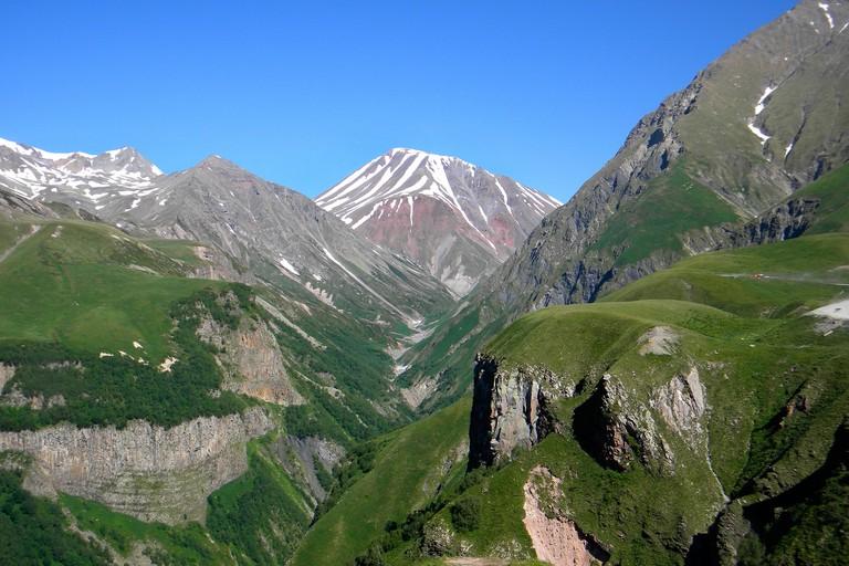 Georgia, Jvari pass