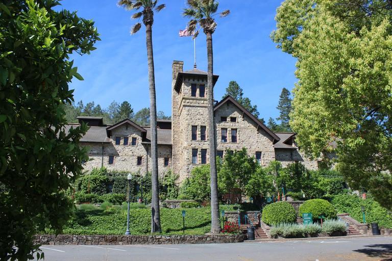 Greystone, Culinary Institute of America, St. Helena, Napa County, California 2BK3TA1