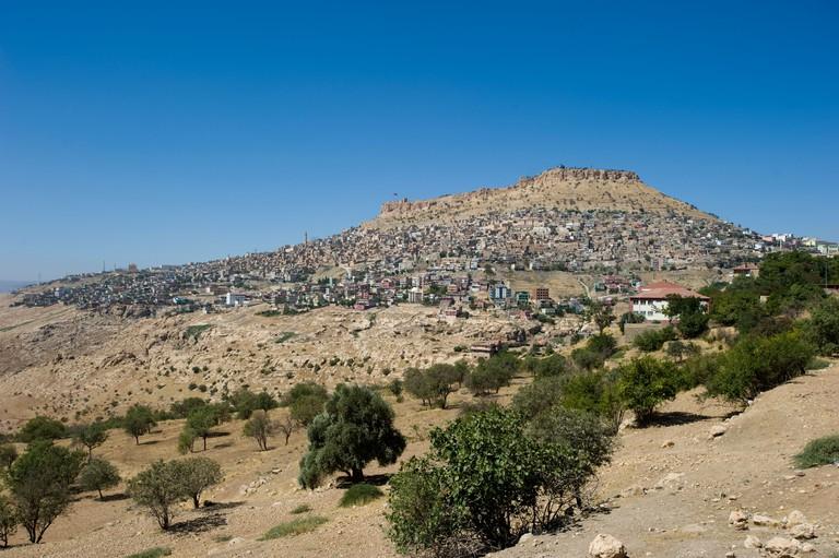 Scenic view of Mardin, Turkey