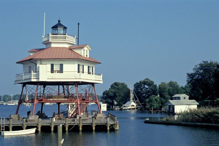 Maryland, Drum Point Lighthouse, Solomons Island