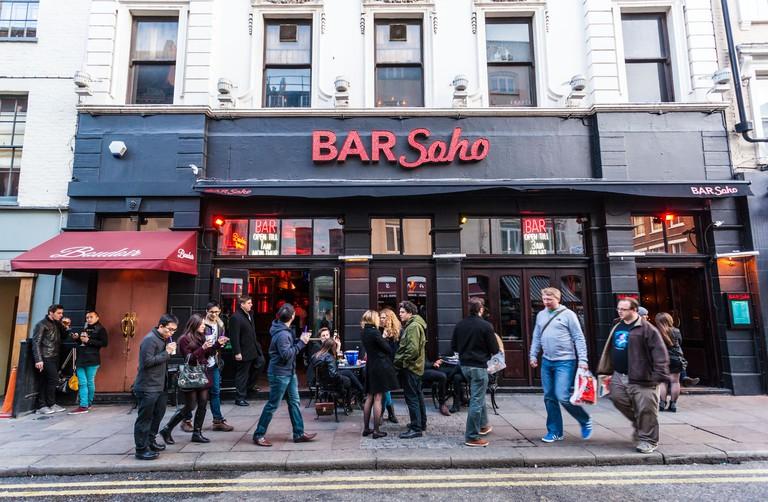 Bar Soho, Old Compton Street, Soho, London, UK