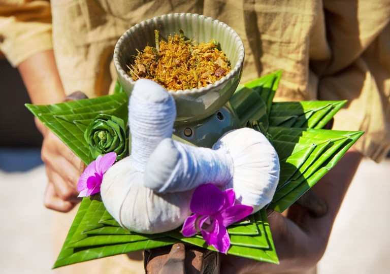 Thai Spa with Herbal Compress