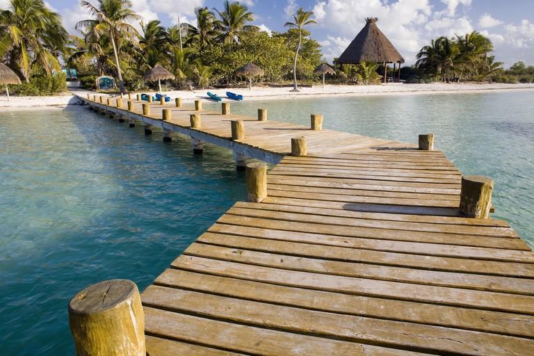 Isla Contoy, Cancun, Yucatan. Mexico.