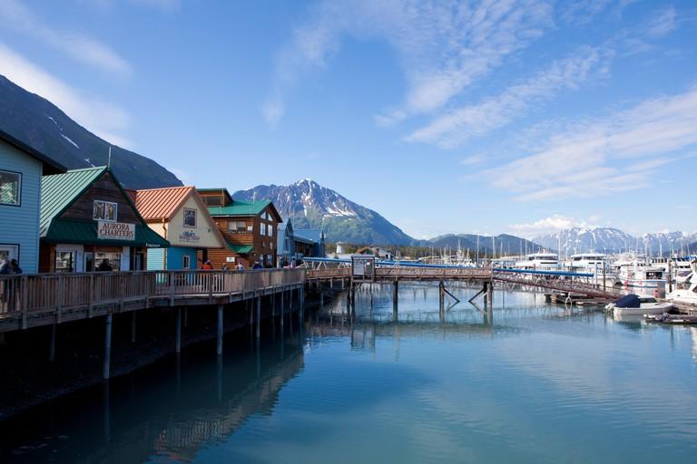 Seward, Kenai Peninsula, Alaska, U.S.A.