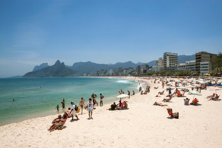 Ipanema, Beach, Rio de Janeiro, Brazil