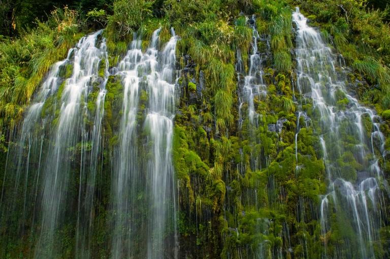 Mossbrae Falls near Dunsmuir Siskiyou County California B0TDF3
