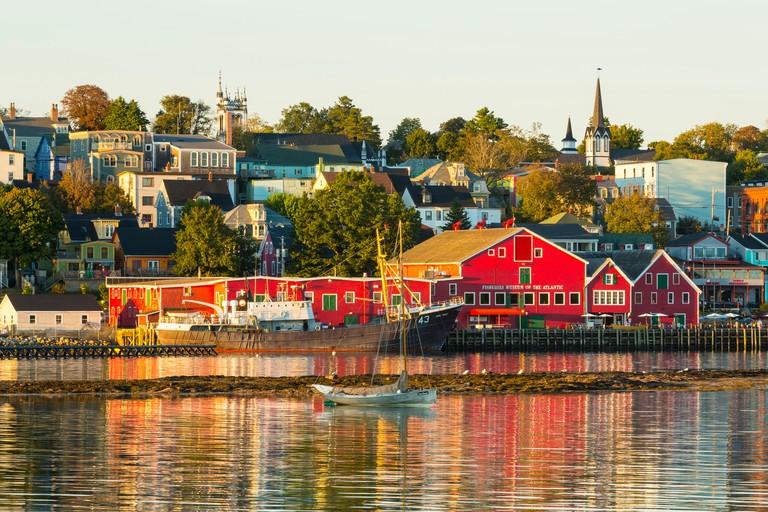 Fisheries Museum of the Atlantic, Lunenburg waterfront, Nova Scotia, Canada
