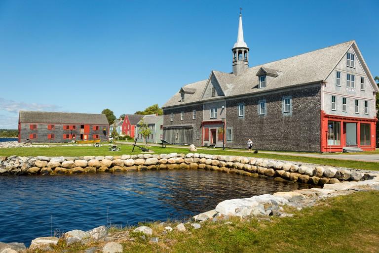 Shelburne Historic Waterfront District, Shelburne, Nova Scotia, Canada