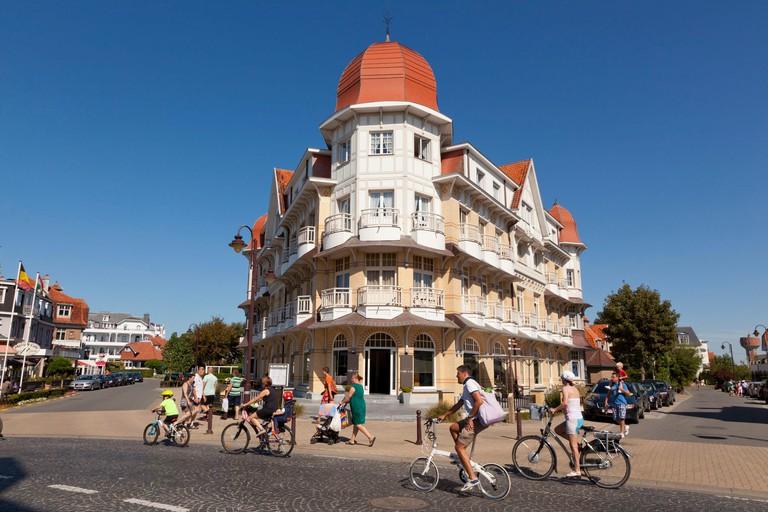Belgium West Flanders De Haan villas golden age in the neighborhood of the Concession