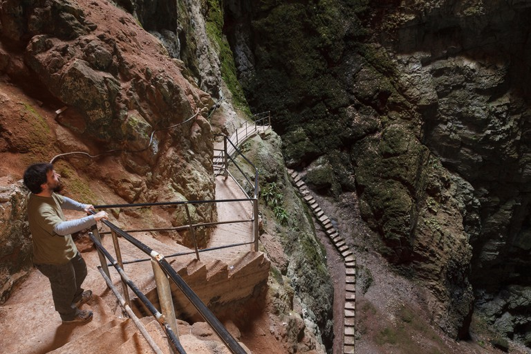 Friouato caves. Tazekka National Park. Easter Middle Atlas. Morocco. North Africa. Africa