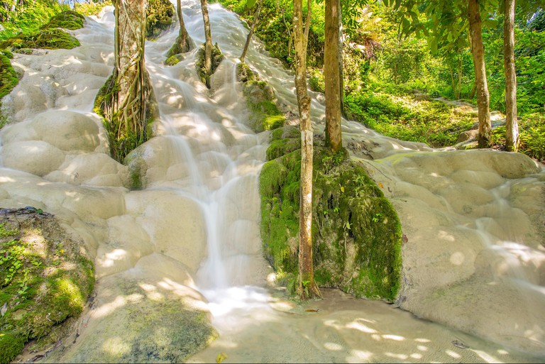 Namtok Bua Tong (Sticky waterfall) in Northern Thailand