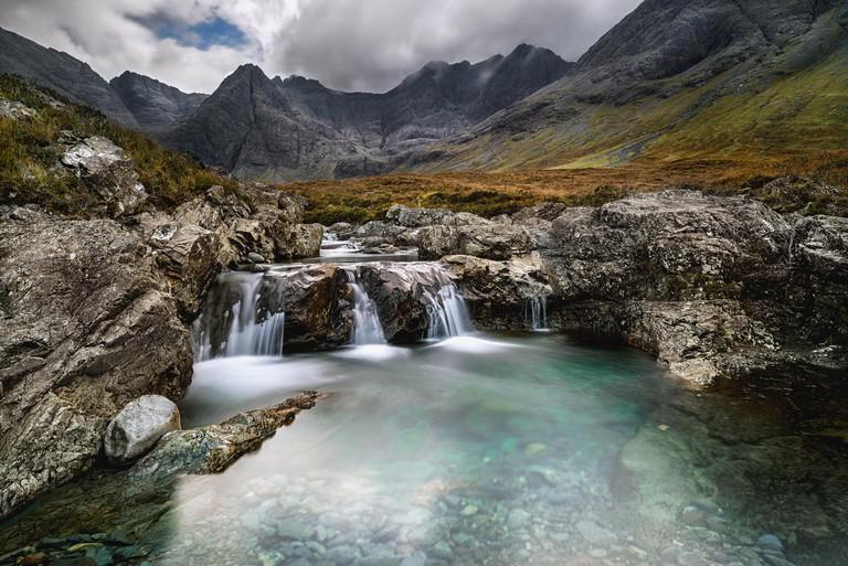 Fairy Pools, Isle of Skye, Highlands region, Scotland, UK
