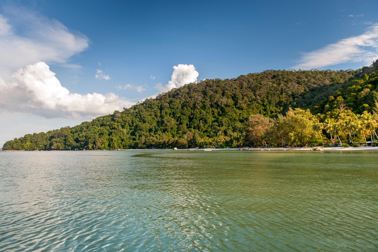 Monkey Beach in the Penang National Park in Penang, Malaysia.. Image shot 11/2014. Exact date unknown.