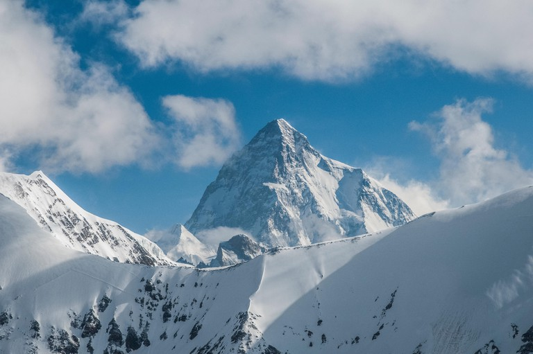 Mountains and Faces; Trekking in the Karakoram MountainsK2 8611m, 2nd highest mountain in the world. Image shot 07/2012. Exact date unknown.