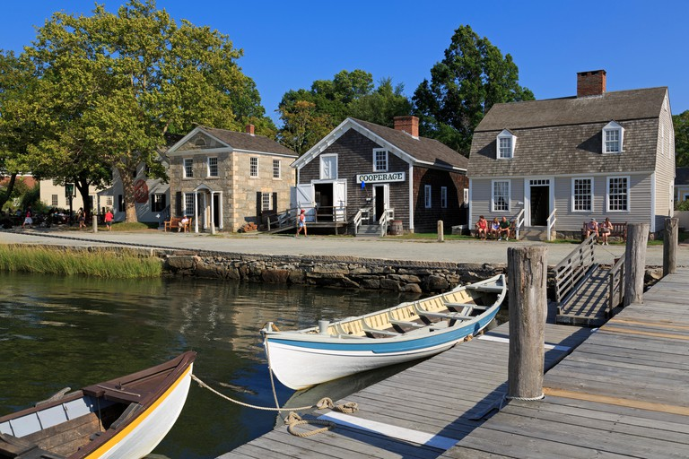 Mystic Seaport, Mystic, Connecticut, USA