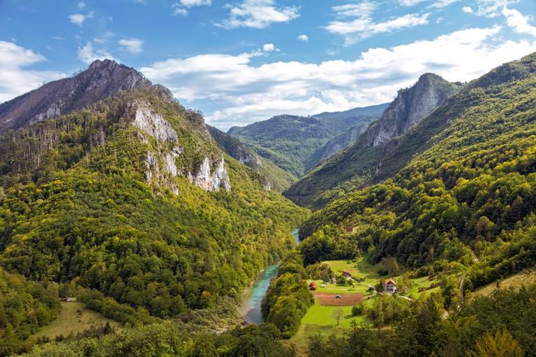 Tara River Canyon, Montenegro. Image shot 10/2014. Exact date unknown.