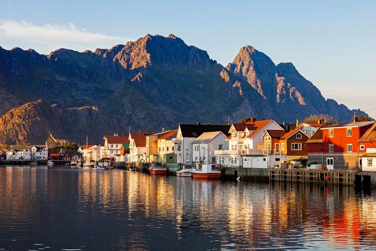 Henningsvaer in Lofoten, Norway. Image shot 08/2015. Exact date unknown.