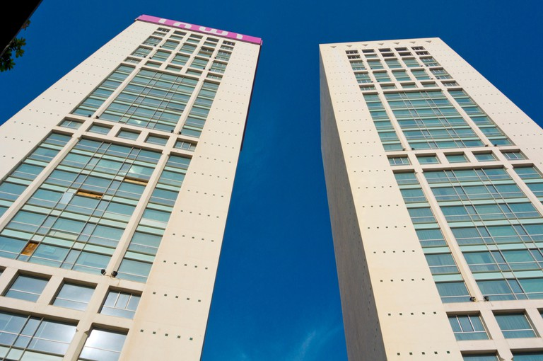 Twin Center, office and shopping complex, Quartier Gauthier, Casablanca, Morocco, northern Africa