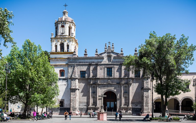 Parroquia San Juan Bautista, Coyoacan
