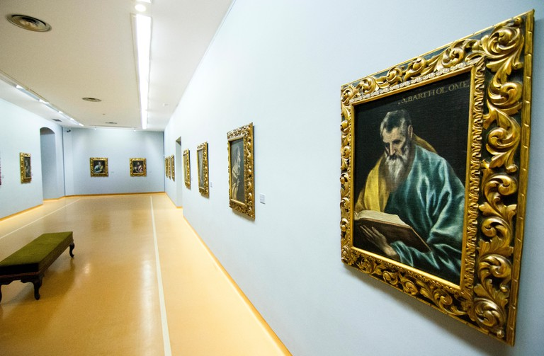 Oviedo, Spain. 31st March, 2016. A new room with the oil paintings of El Greco during the reopening of Museum of Fine Arts of Asturias on March 31, 2016 in Oviedo, Spain. Credit:  David Gato/Alamy Live News