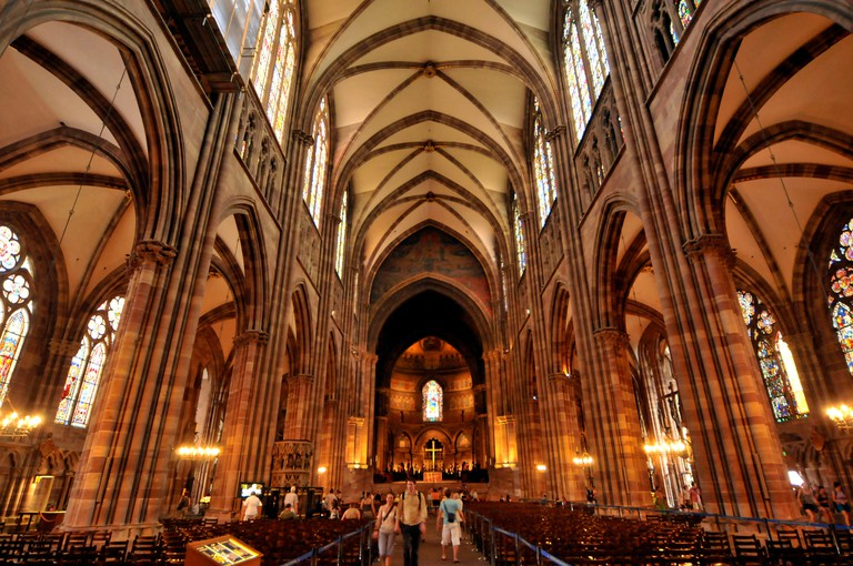 Cathedral of Our Lady of Strasbourg, Strasbourg, Alsace, France / Strasbourg Cathedral, Cathedrale Notre-Dame-de-Strasbourg, Cathedrale Notre Dame de Strasbourg