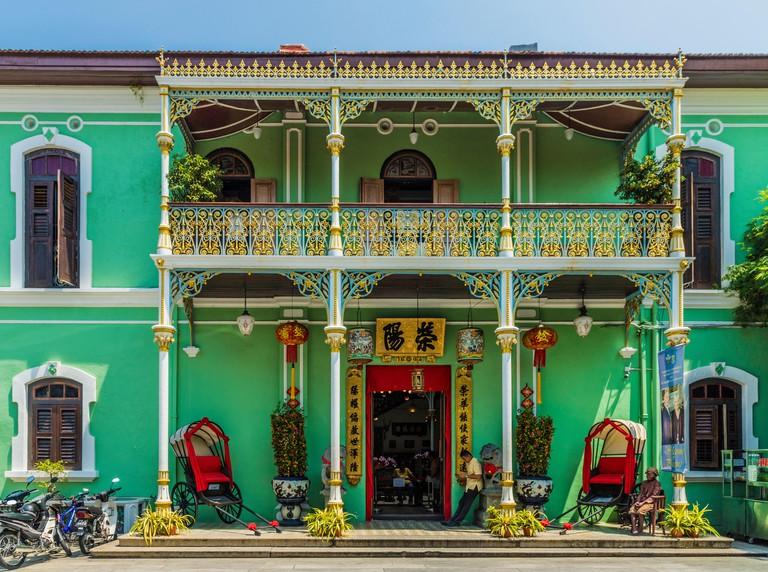 Pinang Peranakan Mansion, George Town, Penang Island, Malaysia_W1EF2J
