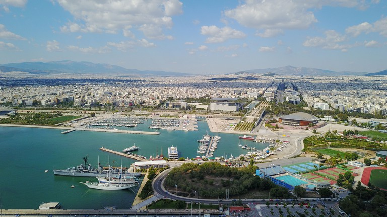 The Flisvos Marina Athens GettyImages-917521900