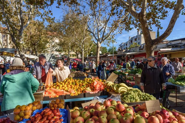 Green Market, Split, Croatia