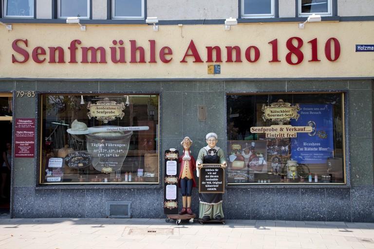 H2K68W Senfmuseum, mustard museum, Senfmuehle, Cologne, North Rhine-Westphalia