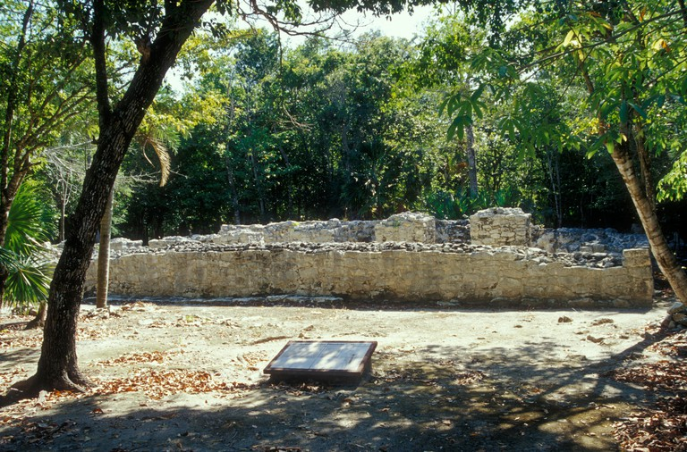 El Palacio, Xel-Ha Archaeological Site, Quintana Roo, Mexico. B6RTM0