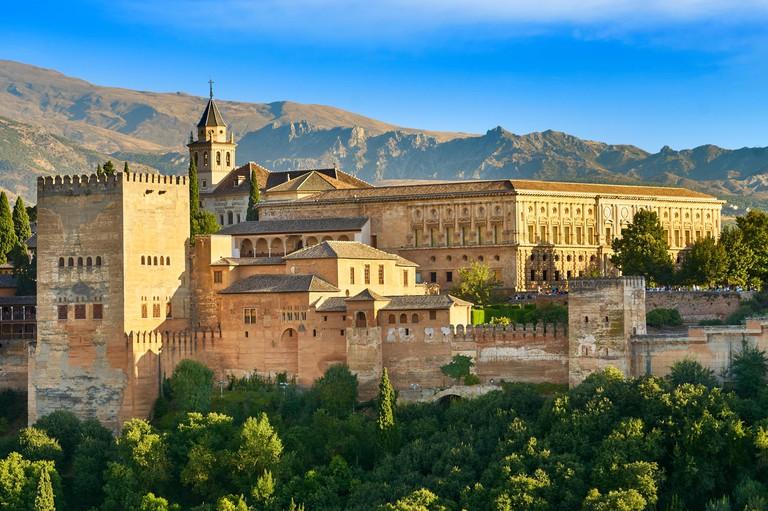 Alhambra Palace, Granada, Andalucia, Spain