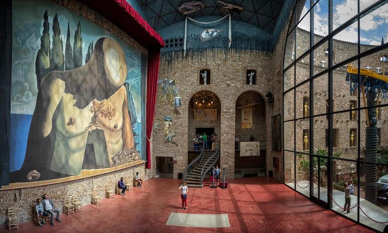 Dali Museum Figueres, Girona province, Catalonia, Spain