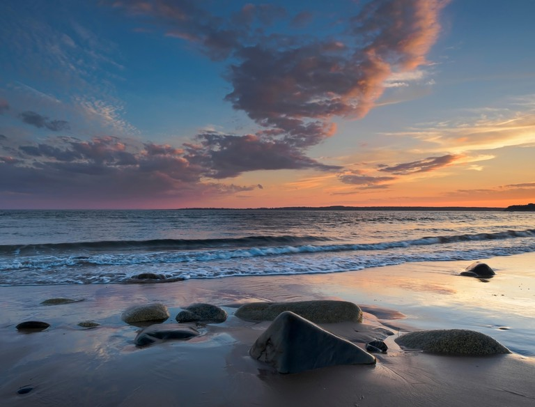 Conrads Beach, Lawrencetown, Halifax County, Nova Scotia,