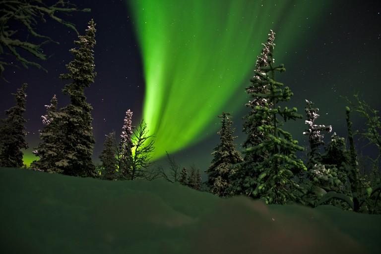 Aurora Borealis, Yllas, Finland