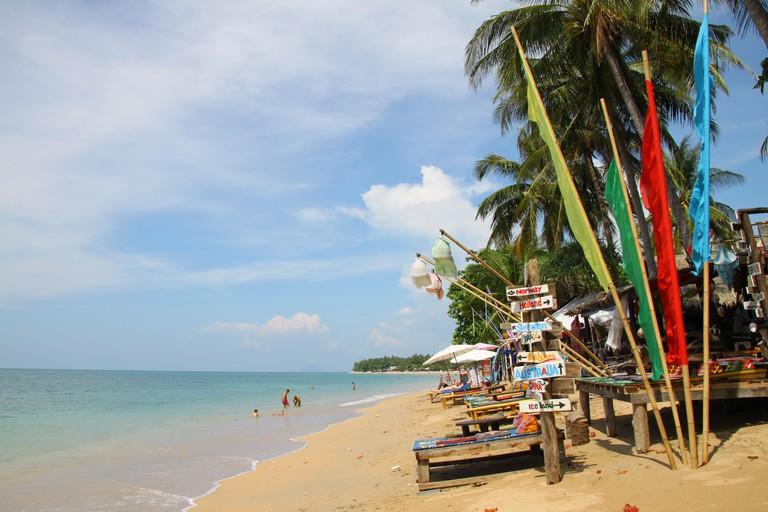 Klong Khong beach on Koh Lanta, Thailand