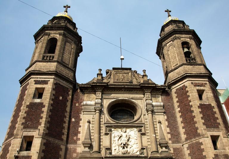 Iglesia San Miguel Arcangel in Mexico City DF CYRPME