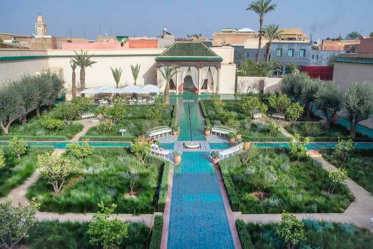 Marrakesh Secret garden Islamic garden layout