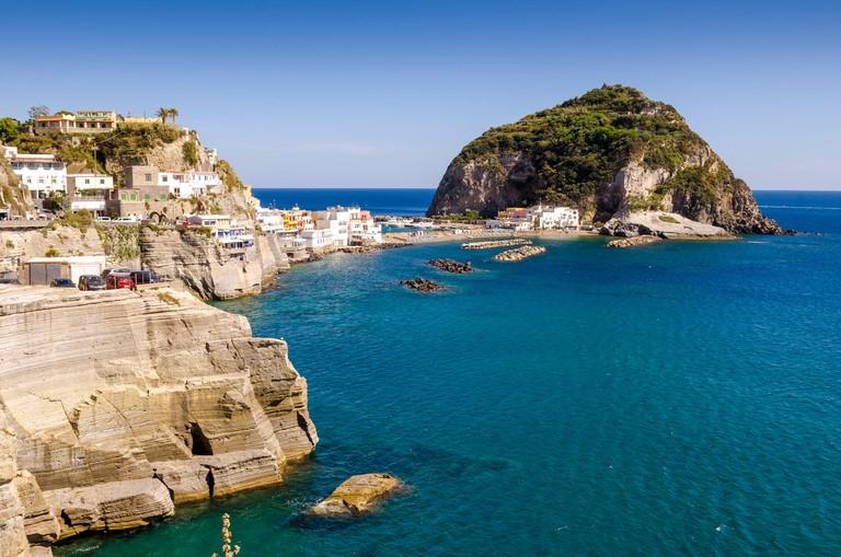 Sant Angelo on island Ischia,Italy