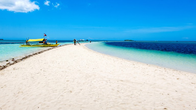 Sandbar at virgin island