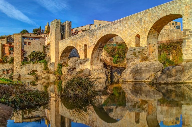 Medieval Bridge, Besalu, Spain