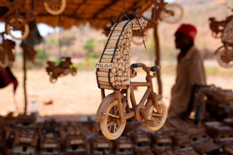 Africa, Malawi, Lilongwe district, Wood crafts