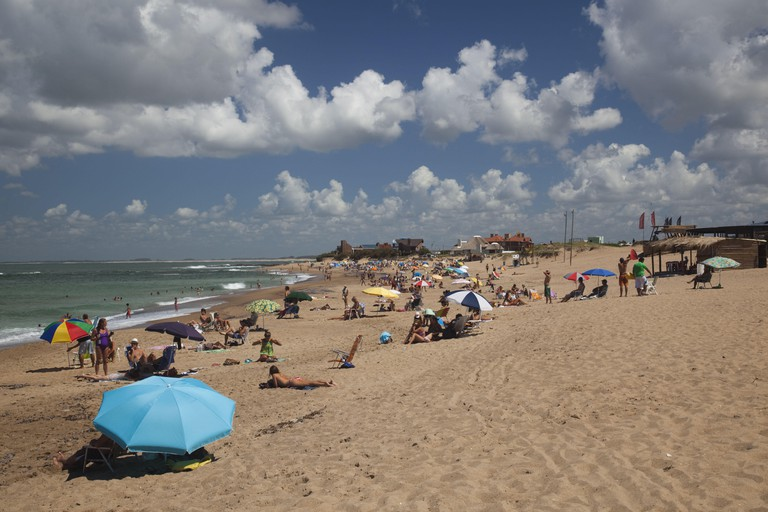 Uruguay, La Paloma, Atlantic Ocean resort town, Playa la Balconada beach