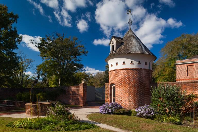 USA, North Carolina, New Bern, Tryon Palace, reconstructed site of first capitol North Carolina, Governor's Palace