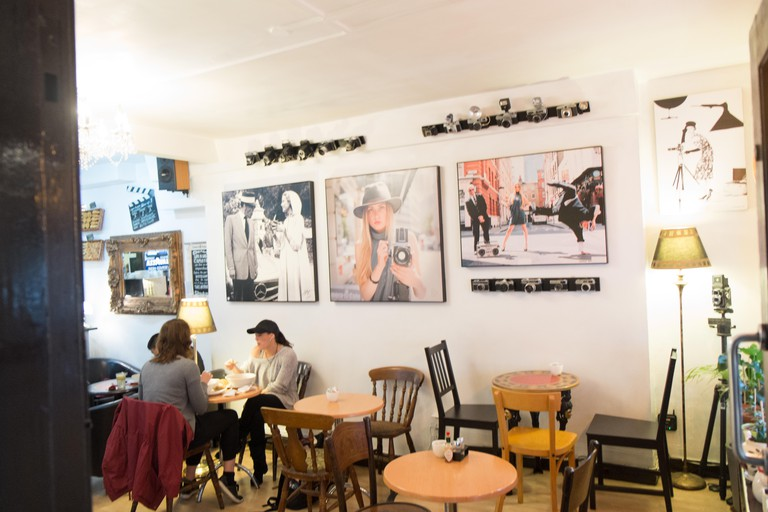 Quirky,small,Camera Museum, and, Cafe,on Museum Street,near British Museum,Bloomsbury,London,England,UK,U.K.,Europe,
