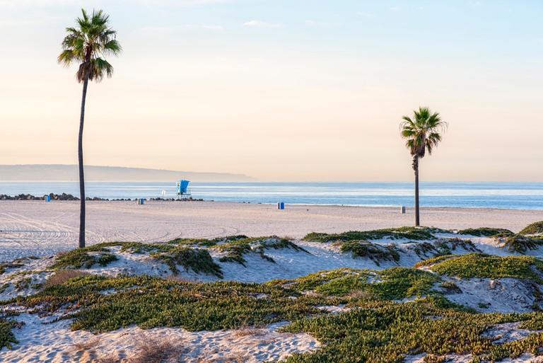 Coronado Central Beach. Coronado, California.
