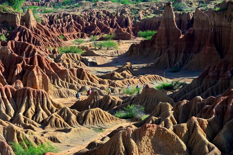 Tatacoa desert, department of Huila, Colombia, South America.