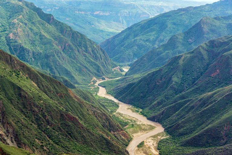 Chicamocha Canyon View